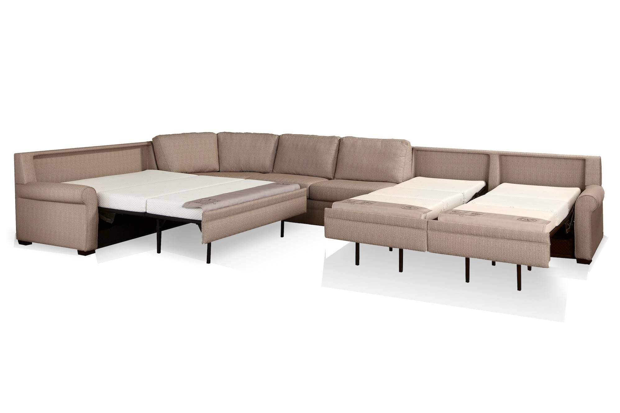 American Leather - Gina - Comfort Sleeper - 30 Day Custom Made regarding American Sofa Beds (Image 6 of 30)