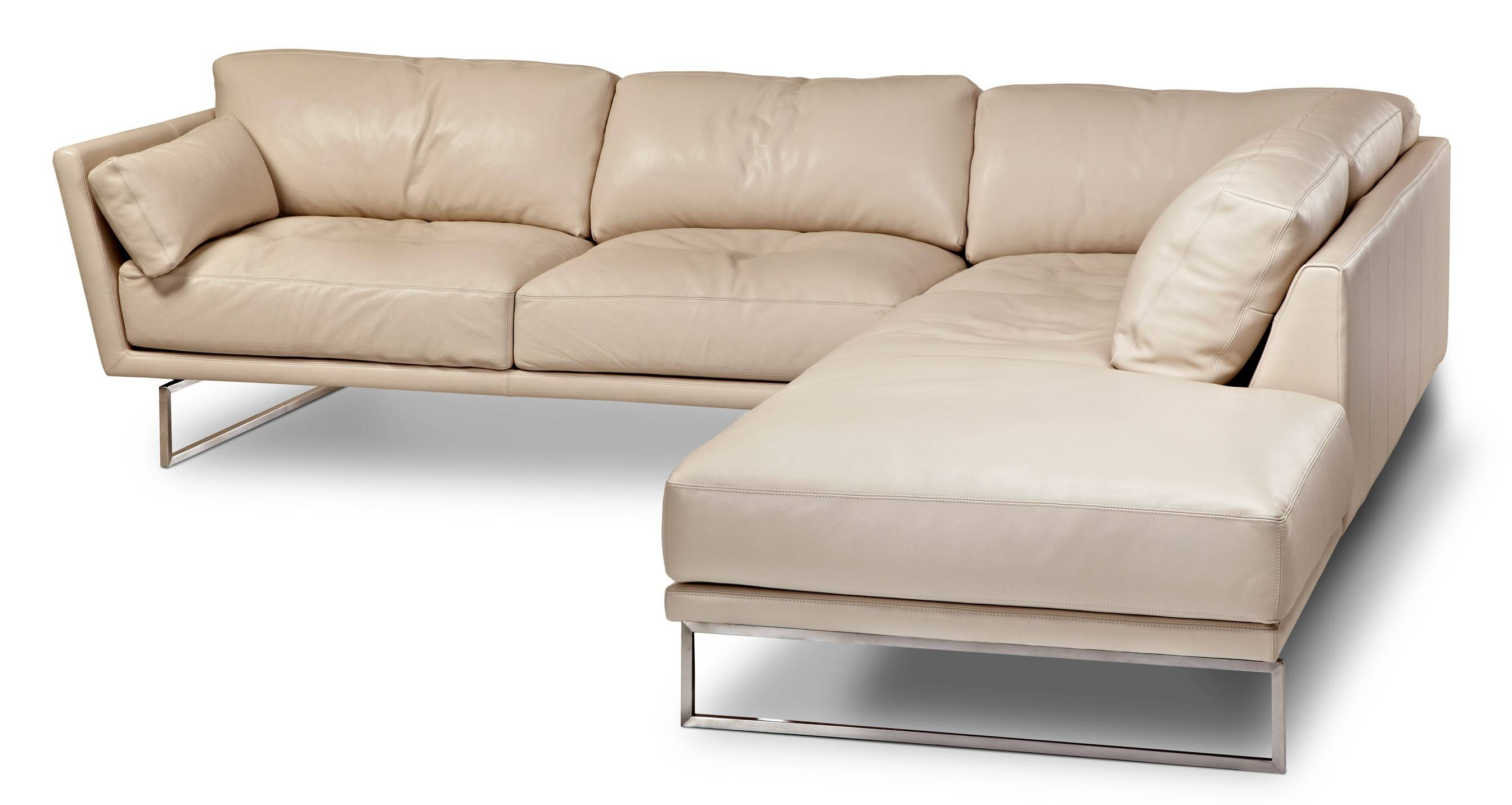 American Leather Sofa Bed Sectional | Tehranmix Decoration for Sleek Sectional Sofa (Image 1 of 25)