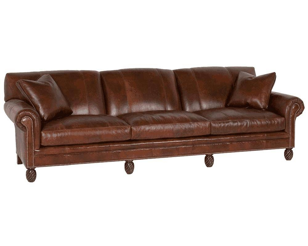 American Made Leather Sofas | Classic Leather Sofas inside Leather Sofas (Image 3 of 30)