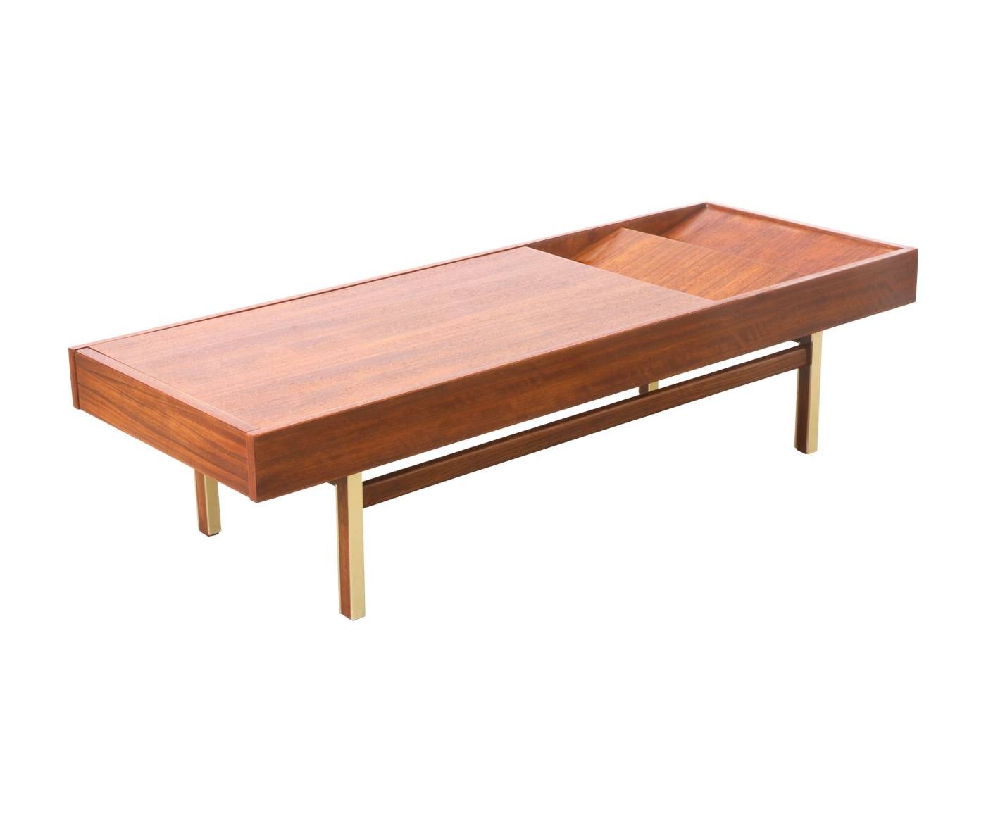 American Of Martinsville Magazine Coffee Table | Danish Modern L.a with regard to Coffee Tables With Magazine Storage (Image 4 of 30)