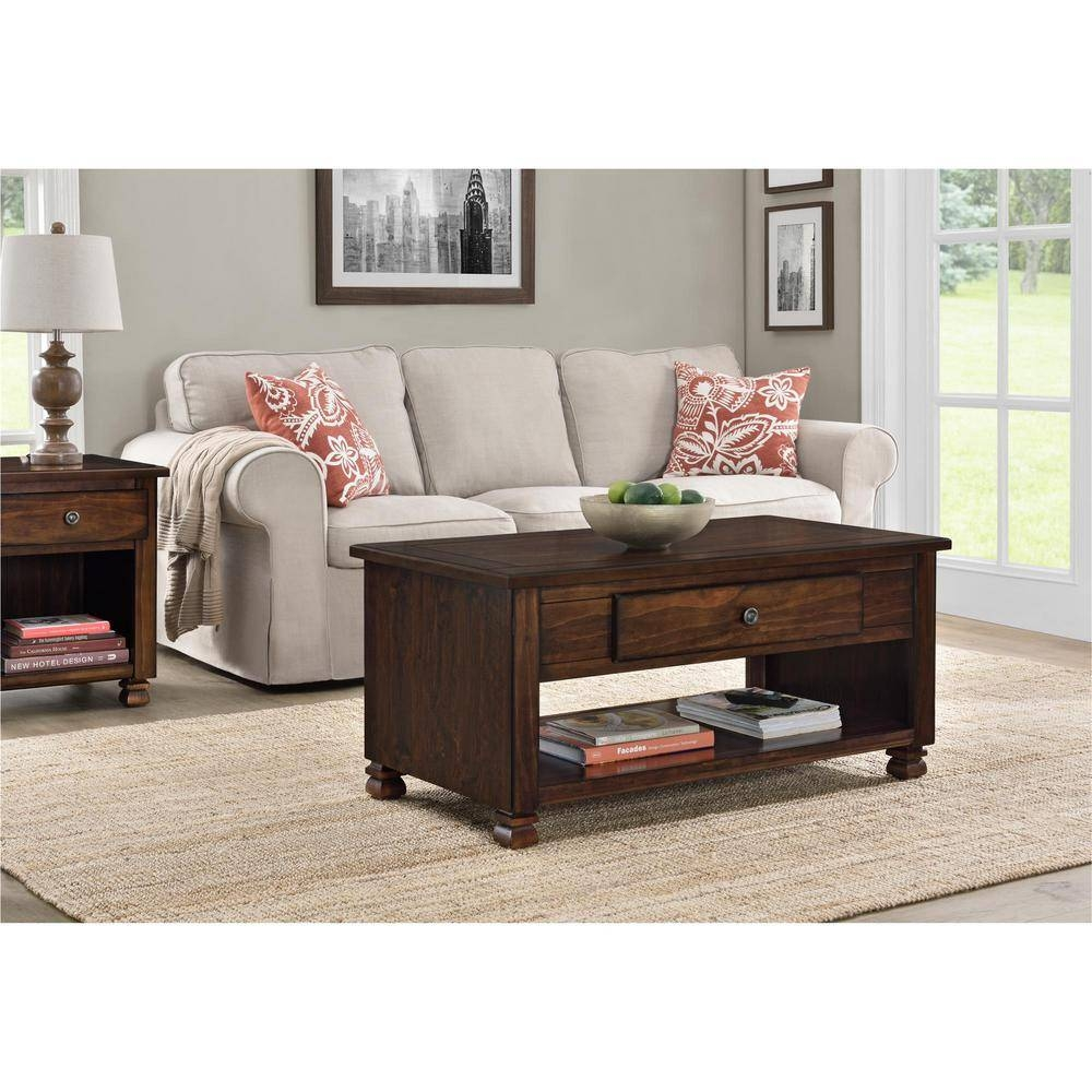 Ameriwood San Antonio Espresso Storage Coffee Table-3609196Com throughout Storage Coffee Tables (Image 6 of 30)