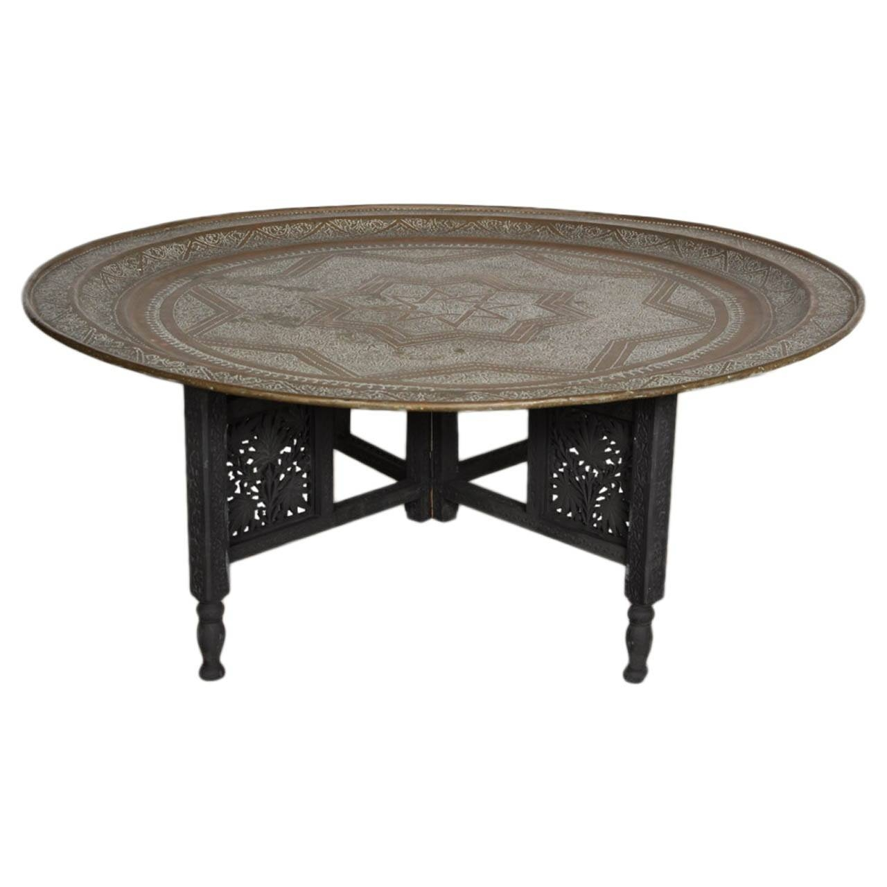 Amusing Round Tray Coffee Table Metal – Round Tray Coffee Table Uk in Round Coffee Table Trays (Image 3 of 30)