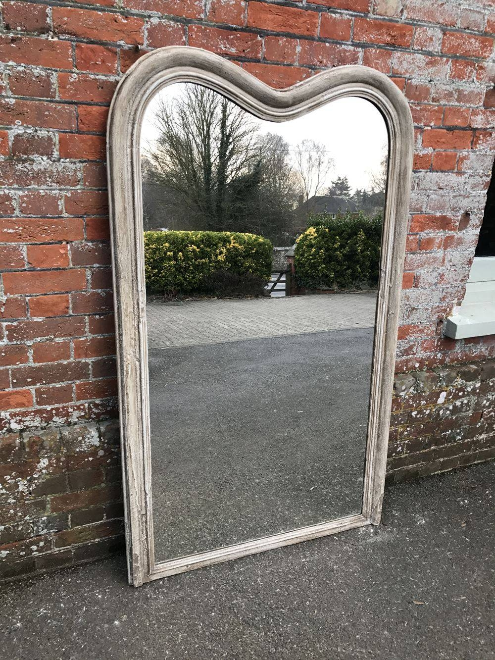 An Absolutely Fabulous Highly Unusual Large Antique 19Th Century inside Unusual Shaped Mirrors (Image 1 of 25)
