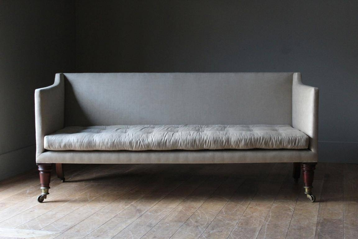 An Early C19Th Classic English Sofa In Seating Classic English Intended For Classic English Sofas (View 9 of 30)