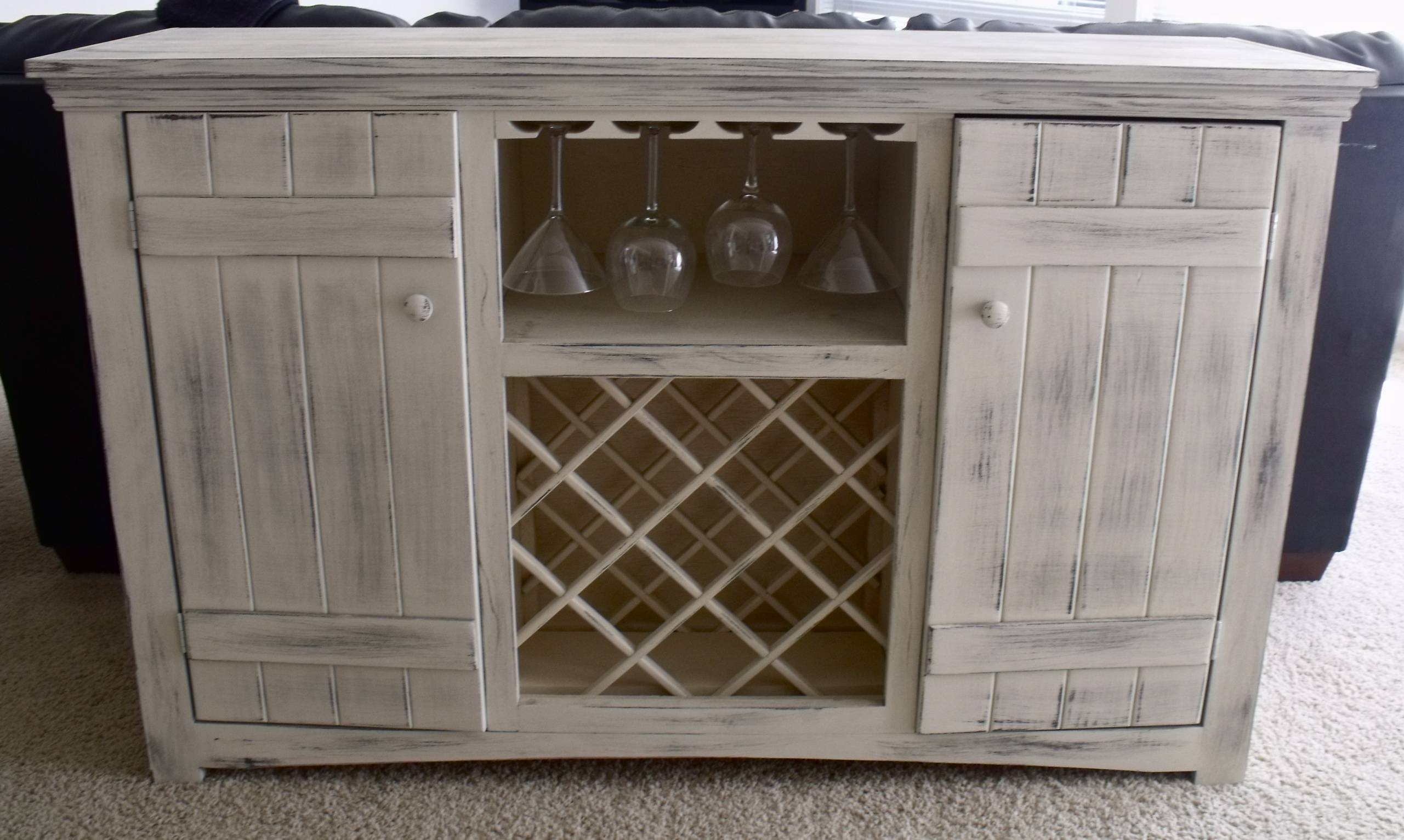Ana White | Farmhouse Wine Buffet - Diy Projects pertaining to White Sideboards With Wine Rack (Image 3 of 30)