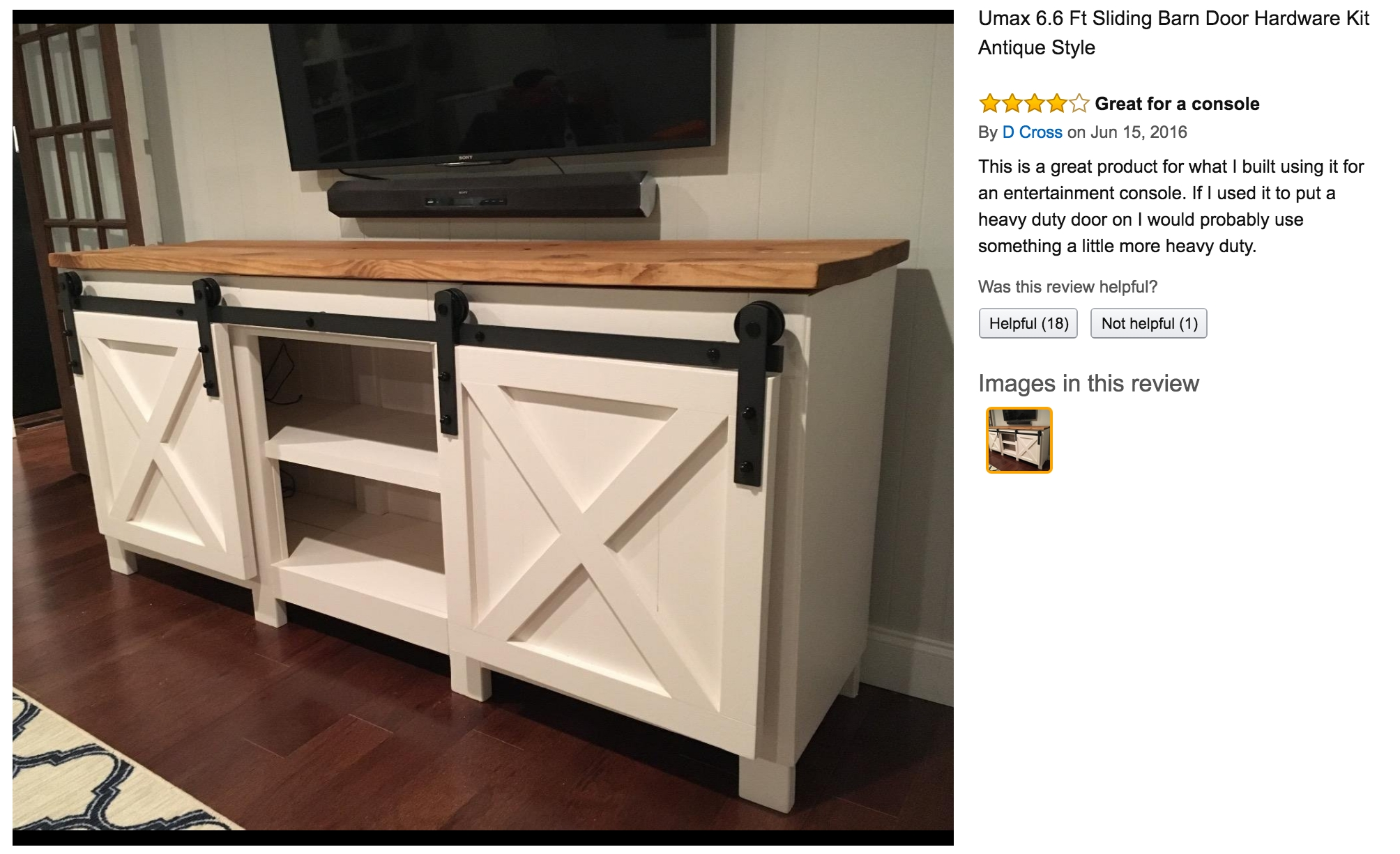 Ana White | Grandy Sliding Door Console - Diy Projects within Amazon Furniture Sideboards (Image 4 of 30)
