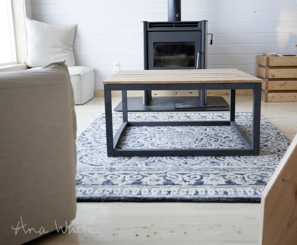 Ana White | Industrial Style Coffee Table As Seen On Diy Network intended for Coffee Table Industrial Style (Image 2 of 30)