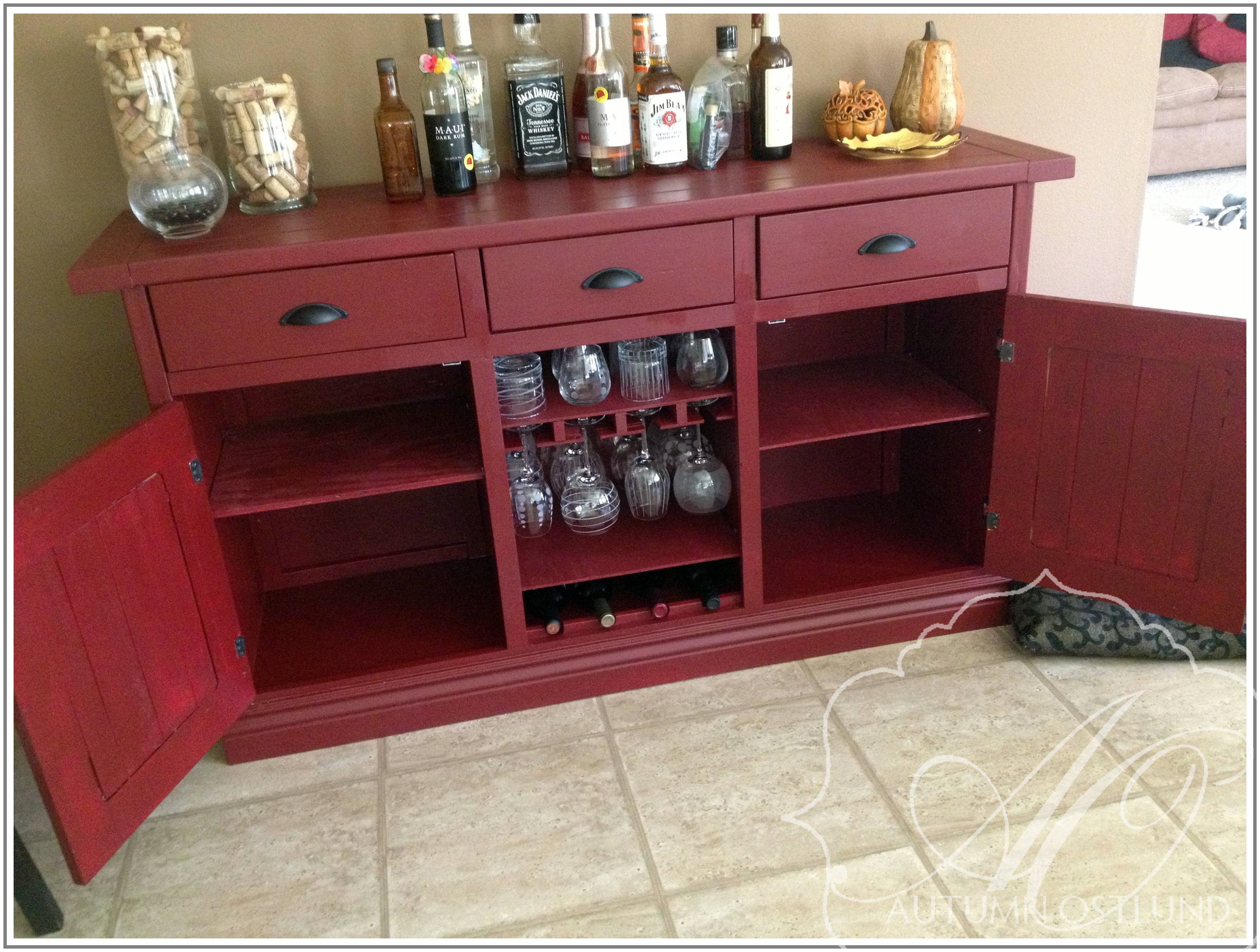 Featured Photo of Red Sideboards
