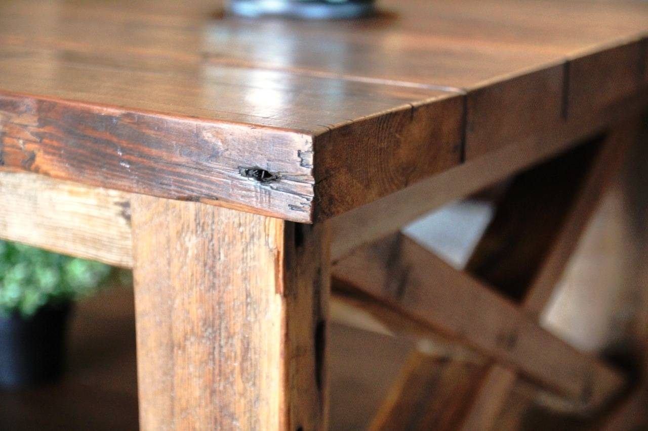 Ana White | Rustic X Coffee Table - Diy Projects inside Rustic Coffee Tables With Bottom Shelf (Image 6 of 30)
