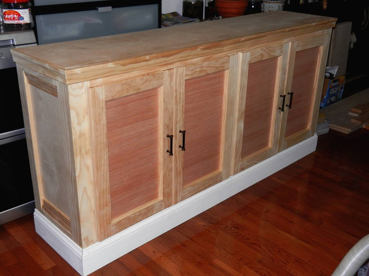Ana White | Shanty Sideboard And Hutch - First Build - Diy Projects intended for Unfinished Sideboards (Image 1 of 30)