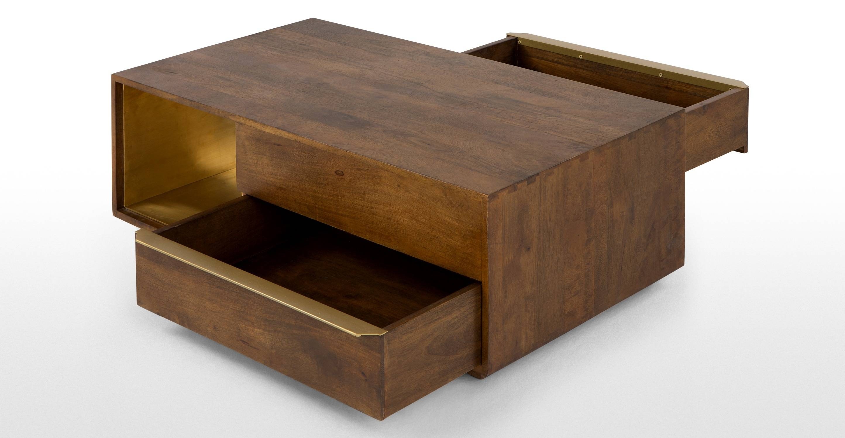 Anderson Coffee Table, Acacia Wood | Made intended for Mango Coffee Tables (Image 2 of 30)