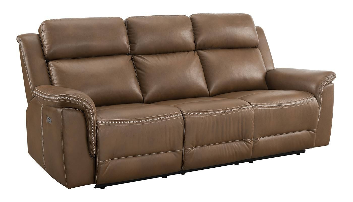 Andrea Power Reclining Sofa - Home Zone Furniture | Living Room regarding Recliner Sofa Chairs (Image 3 of 30)