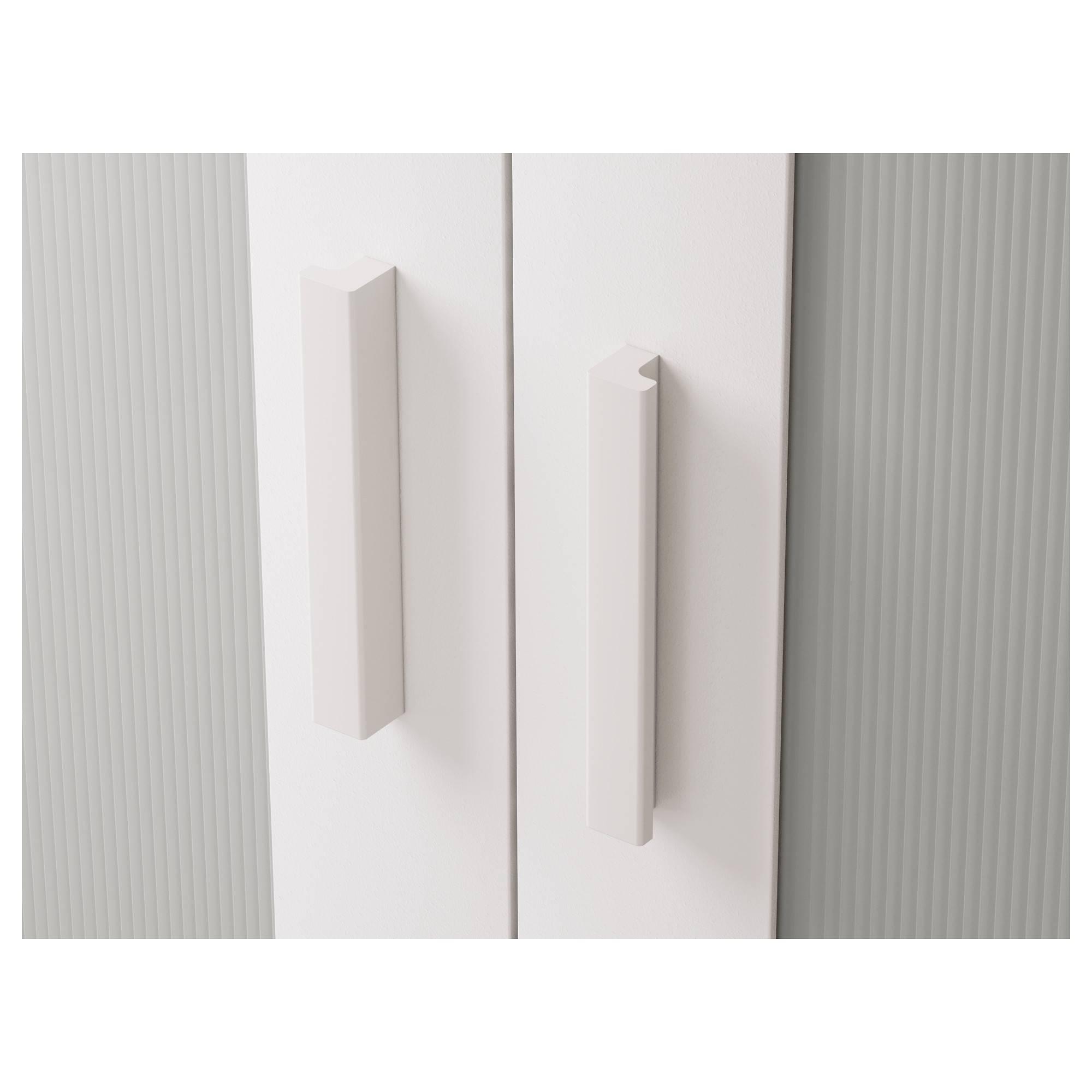 Aneboda Wardrobe White 81X180 Cm - Ikea within Double Rail White Wardrobes (Image 2 of 21)