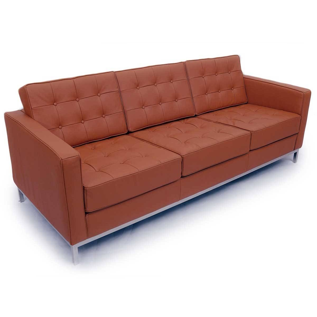 Aniline Leather Sectional regarding Aniline Leather Sofas (Image 4 of 30)