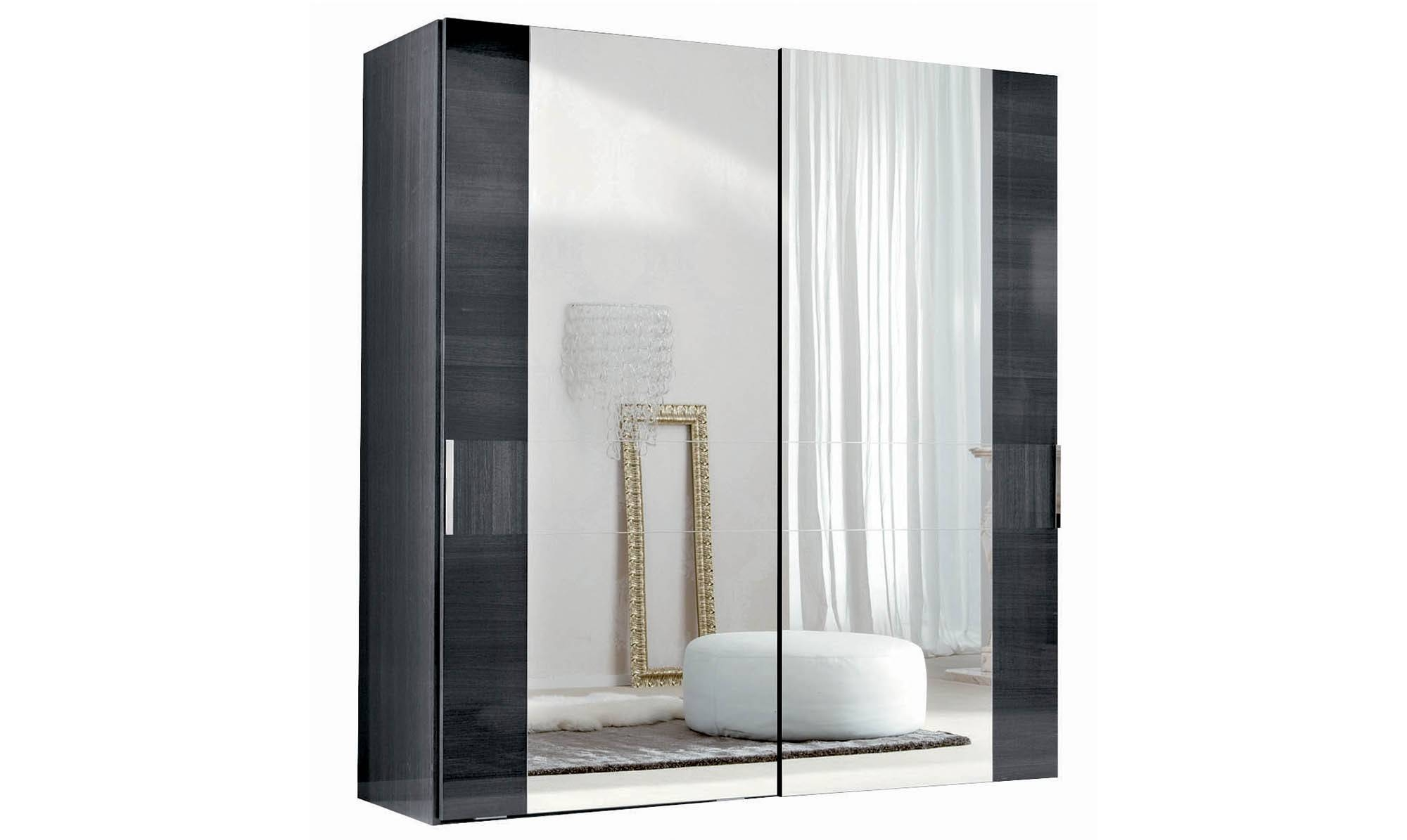 Antibes - 2 Sliding Mirror Door Wardrobe - All Bedroom Ranges inside Wardrobes With 2 Sliding Doors (Image 1 of 15)