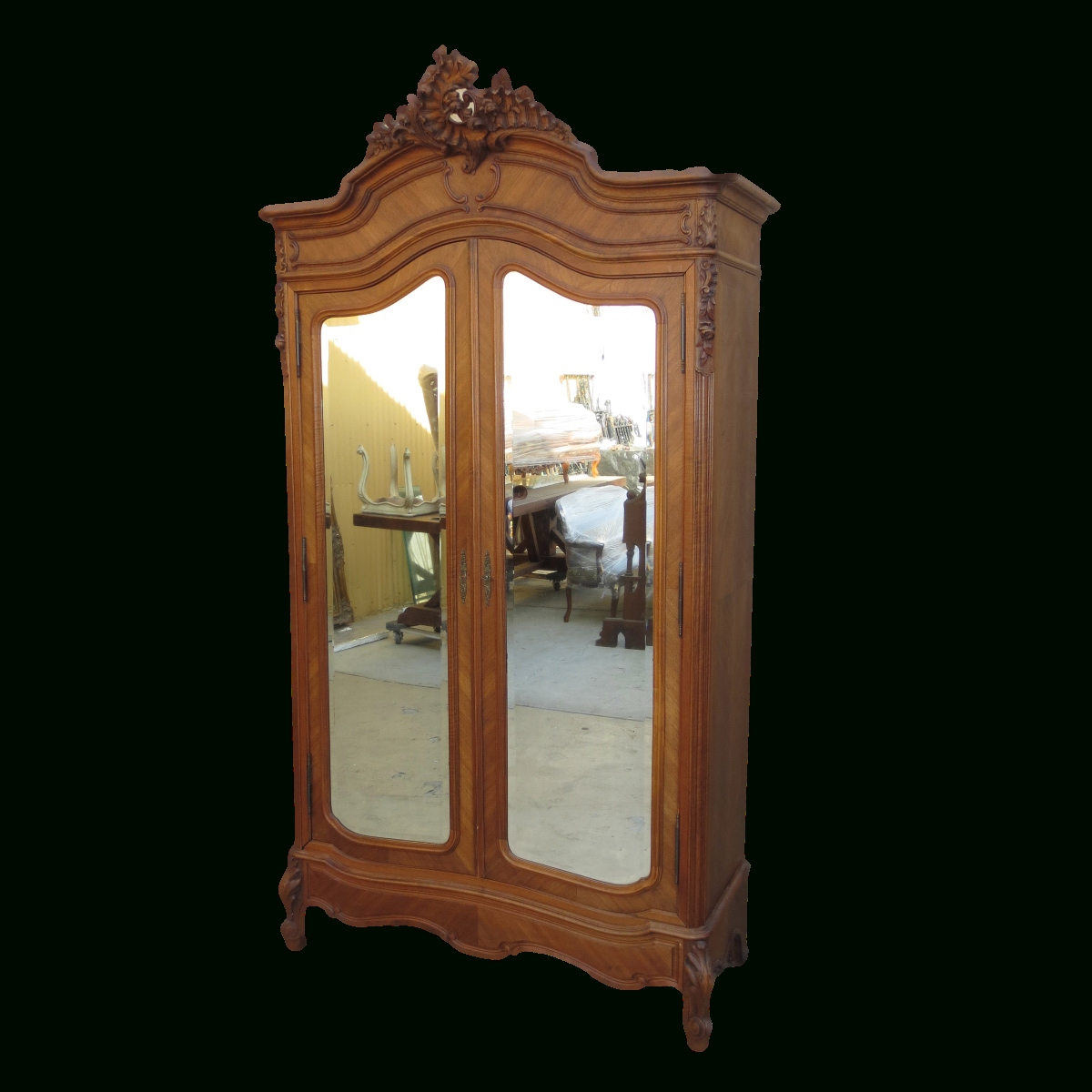 Antique Armoires And Antique Wardrobes regarding French Antique Wardrobes (Image 5 of 15)