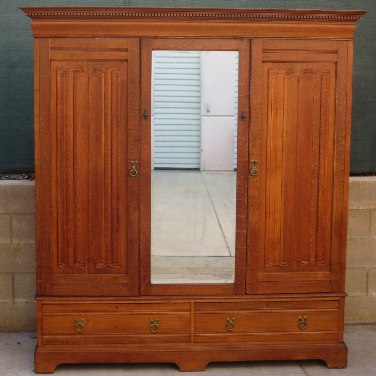 Antique Armoires, Antique Wardrobes, And Antique Furniture From with regard to Wardrobes And Armoires (Image 3 of 15)