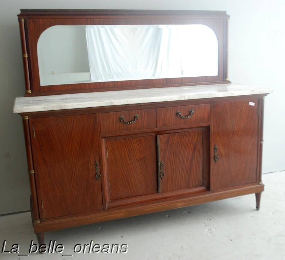 Antique Buffet With Mirror – Harpsounds.co throughout Sideboards With Mirror (Image 8 of 30)
