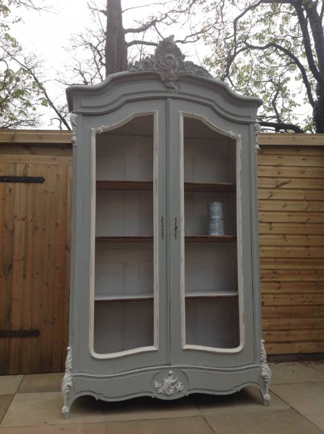Antique C1900 Rococo Wardrobe In Wardrobes with regard to Rococo Wardrobes (Image 1 of 15)