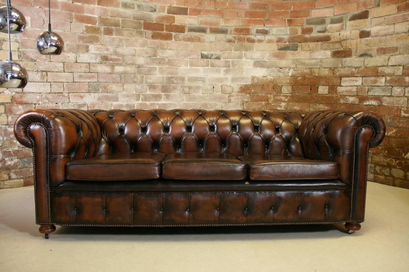 Antique Chesterfield Sofa Beauty No7 | Umpsa 78 Sofas intended for Vintage Chesterfield Sofas (Image 1 of 30)