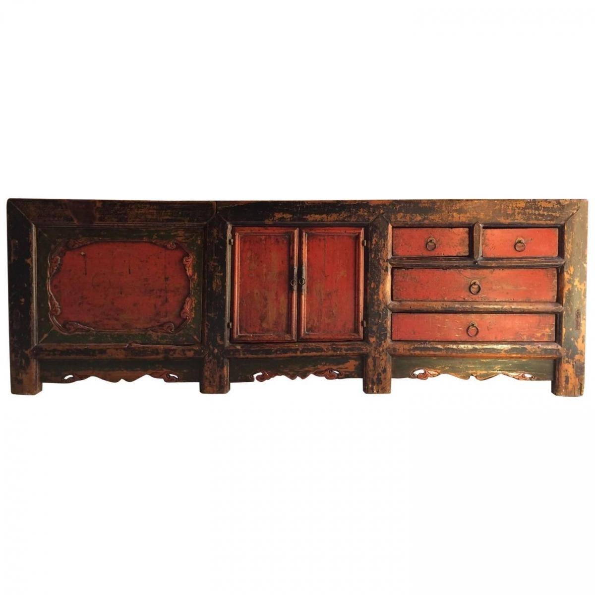 Antique Chinese Grain Store Sideboard, 1780S For Sale At Pamono Inside Chinese Sideboards (View 3 of 30)