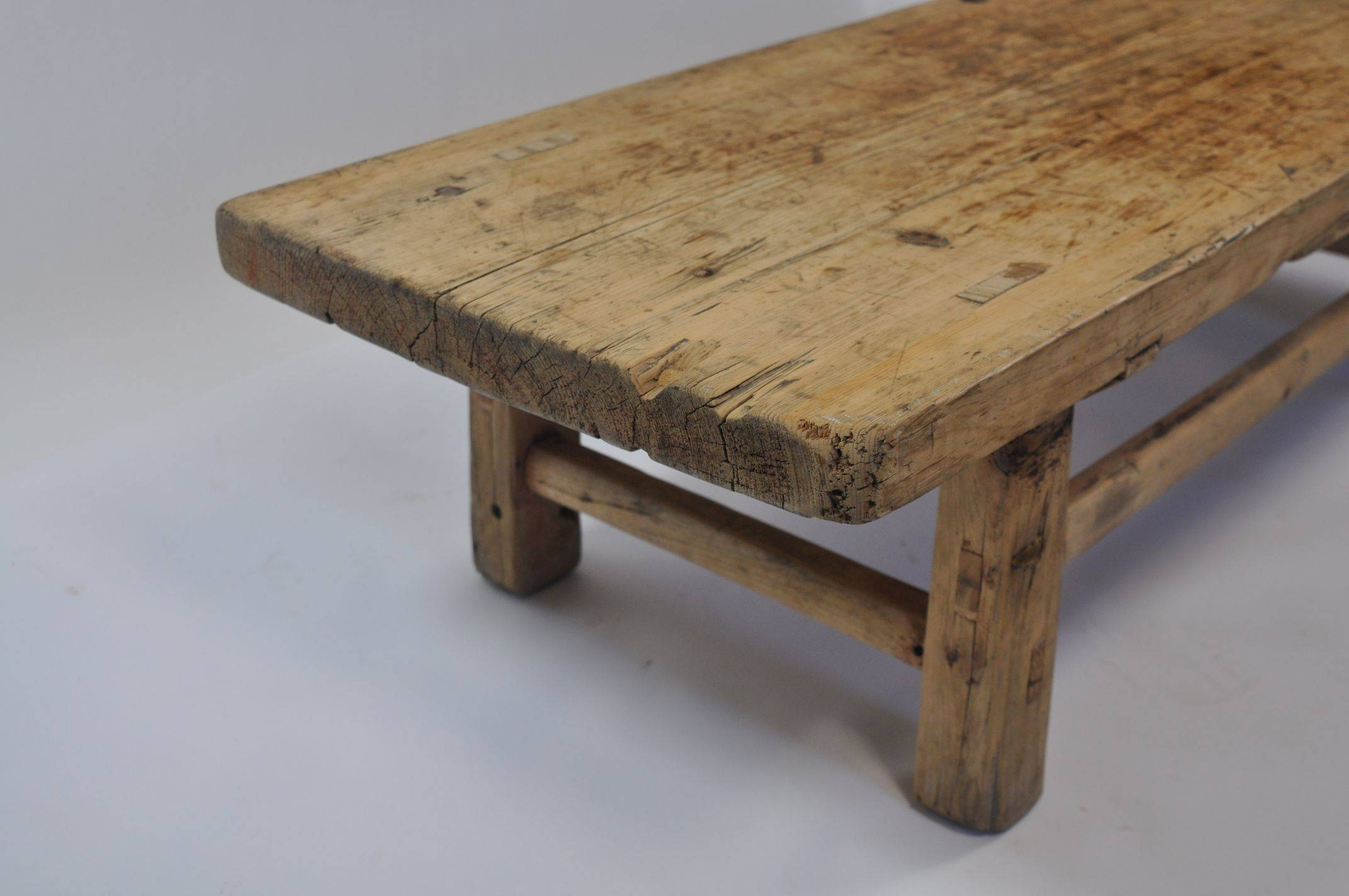 Antique Chinese Pine Coffee Table - Mecox Gardens inside Antique Pine Coffee Tables (Image 2 of 30)