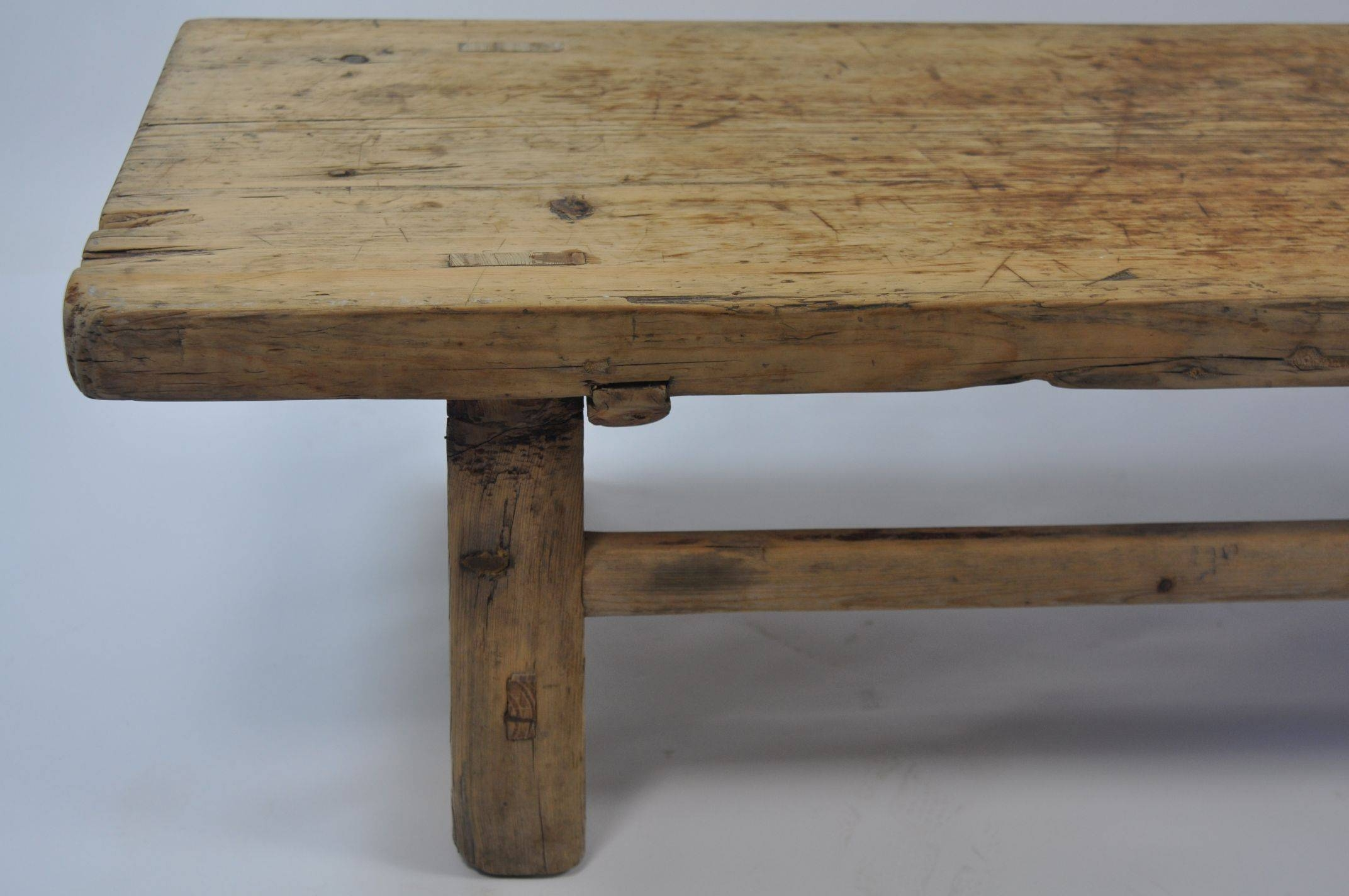 Antique Chinese Pine Coffee Table - Mecox Gardens pertaining to Antique Pine Coffee Tables (Image 3 of 30)