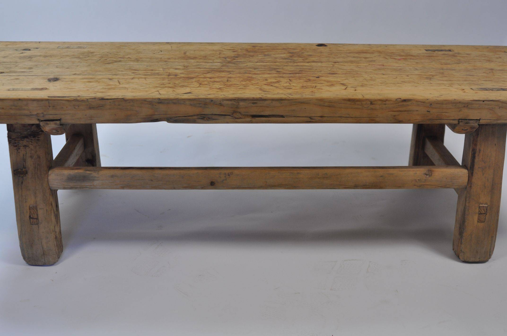 Antique Chinese Pine Coffee Table - Mecox Gardens within Antique Pine Coffee Tables (Image 5 of 30)