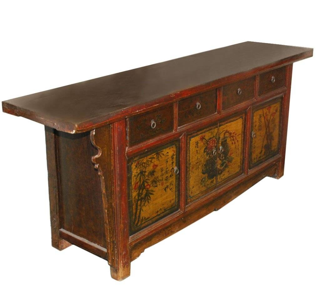 Antique Chinese Sideboard For Sale At 1Stdibs with regard to Chinese Sideboards (Image 4 of 30)