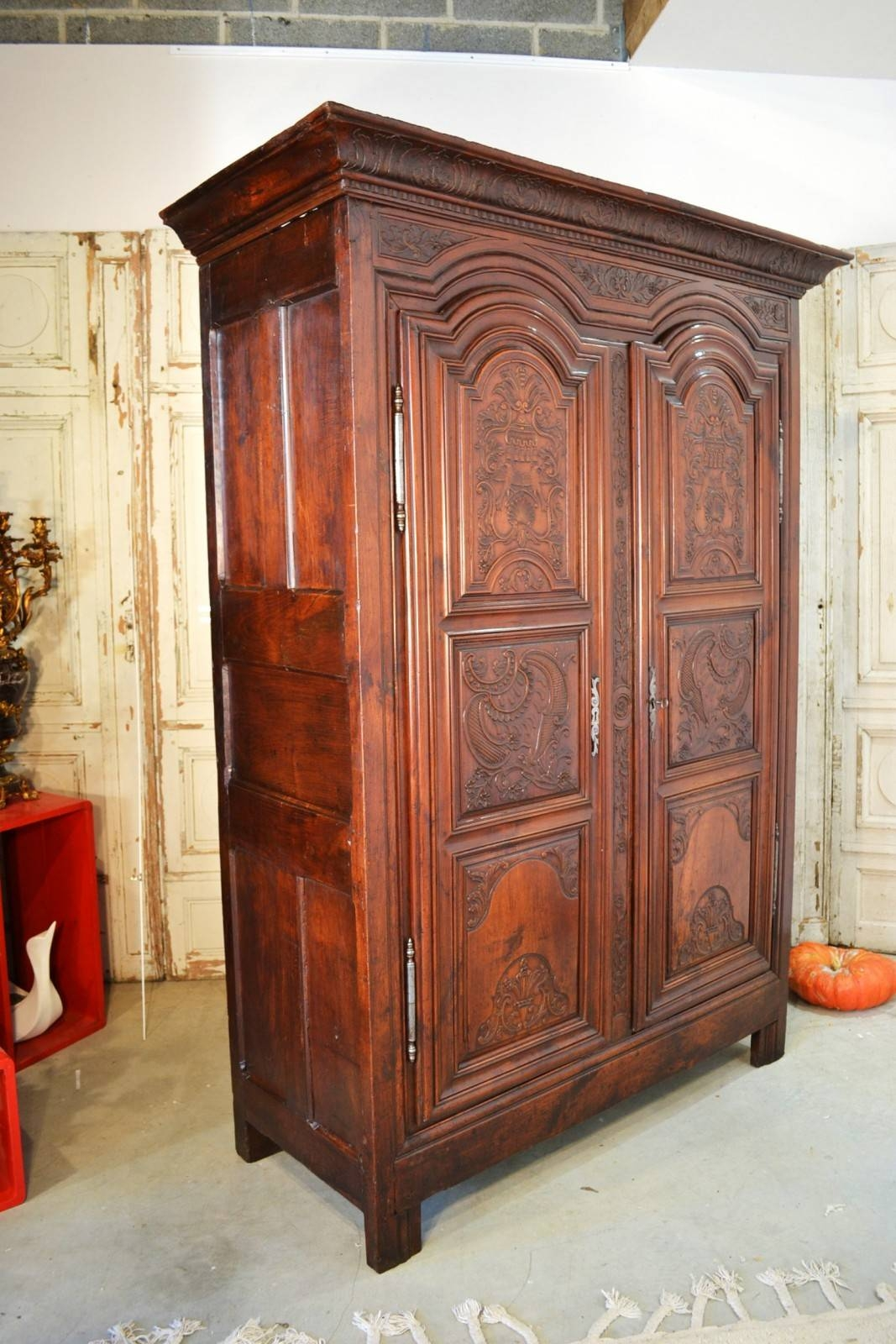 Antique French Armoire For Sale | Antic France in French Wardrobes for Sale (Image 2 of 15)