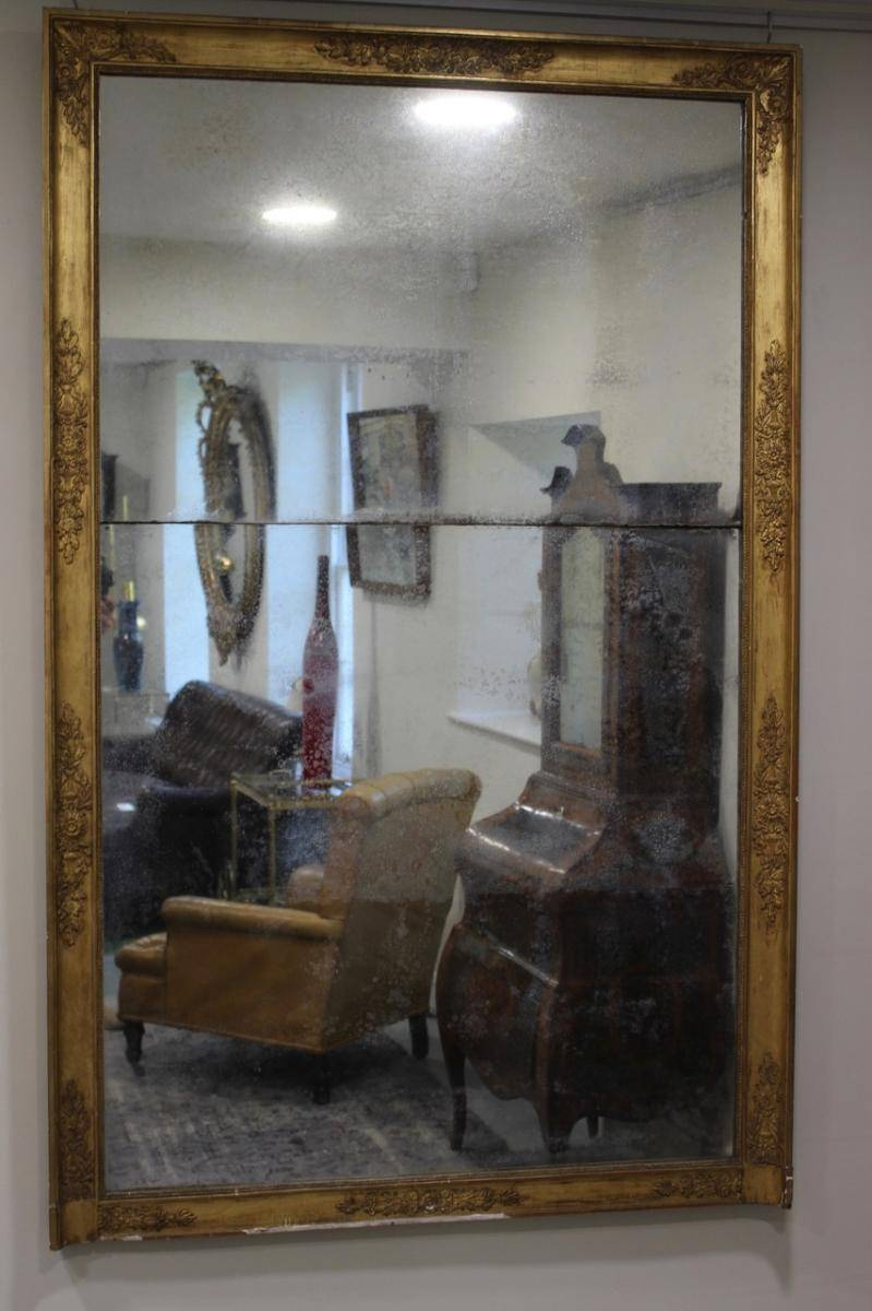 Antique French Gilded Mirror For Sale At Pamono intended for Antique Gilded Mirrors (Image 8 of 25)