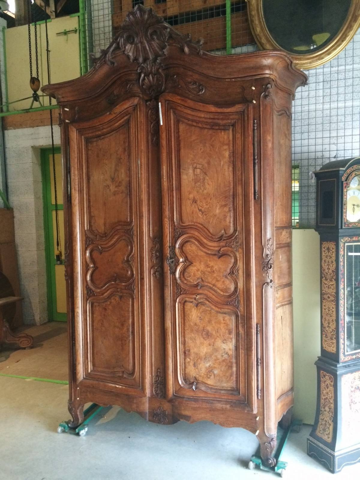 Antique French Wardrobe 18Th Century | Antic France with regard to Antique French Wardrobes (Image 4 of 15)