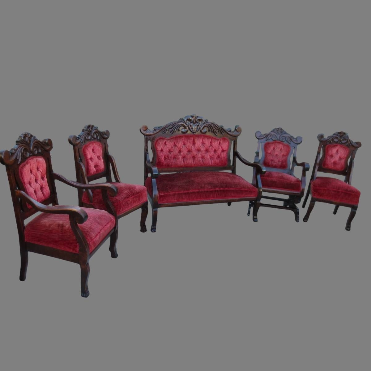 Antique Furniture, Antique Sofas, Antique Couches, Antique Living for Antique Sofa Chairs (Image 1 of 30)