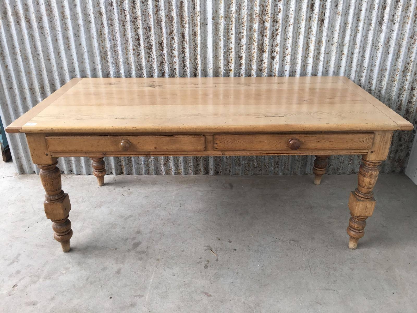 Antique Furniture - Burbri with Old Pine Coffee Tables (Image 1 of 30)
