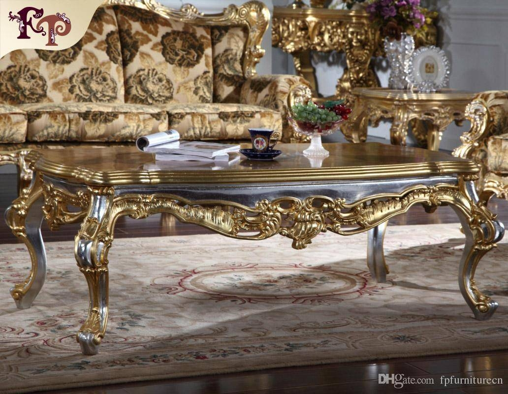 Antique Furniture Manufacturer-French Classic Coffee Table within French Style Coffee Tables (Image 2 of 30)