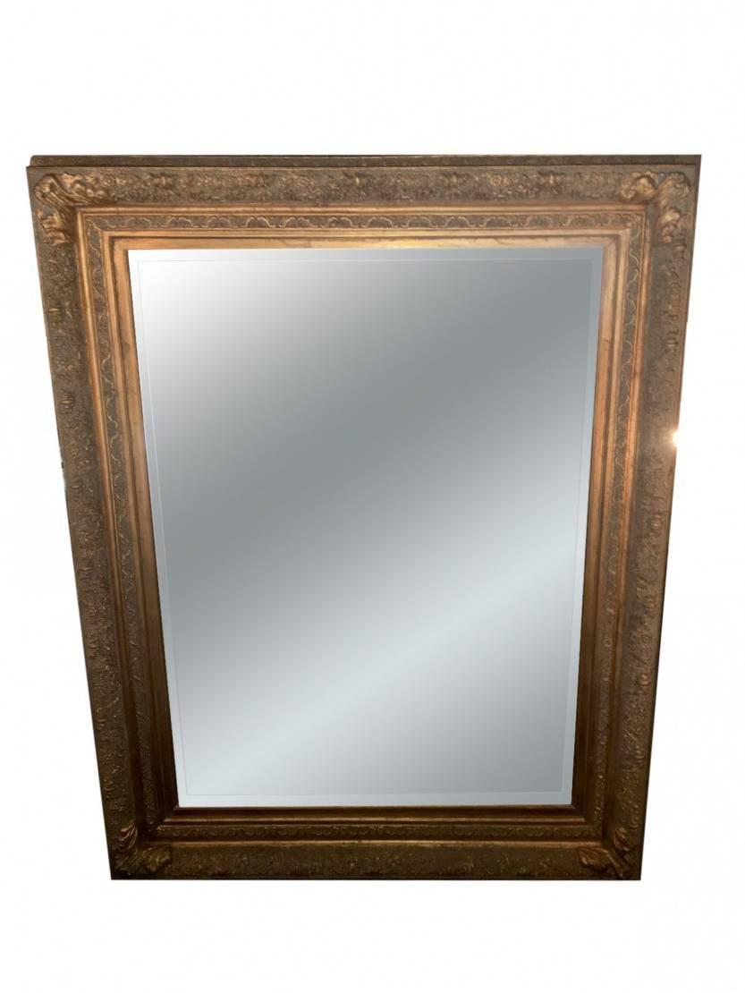 Antique Gilded Mirror | Previously Owneda Gay Man Inside Antique Gilded Mirrors (View 23 of 25)