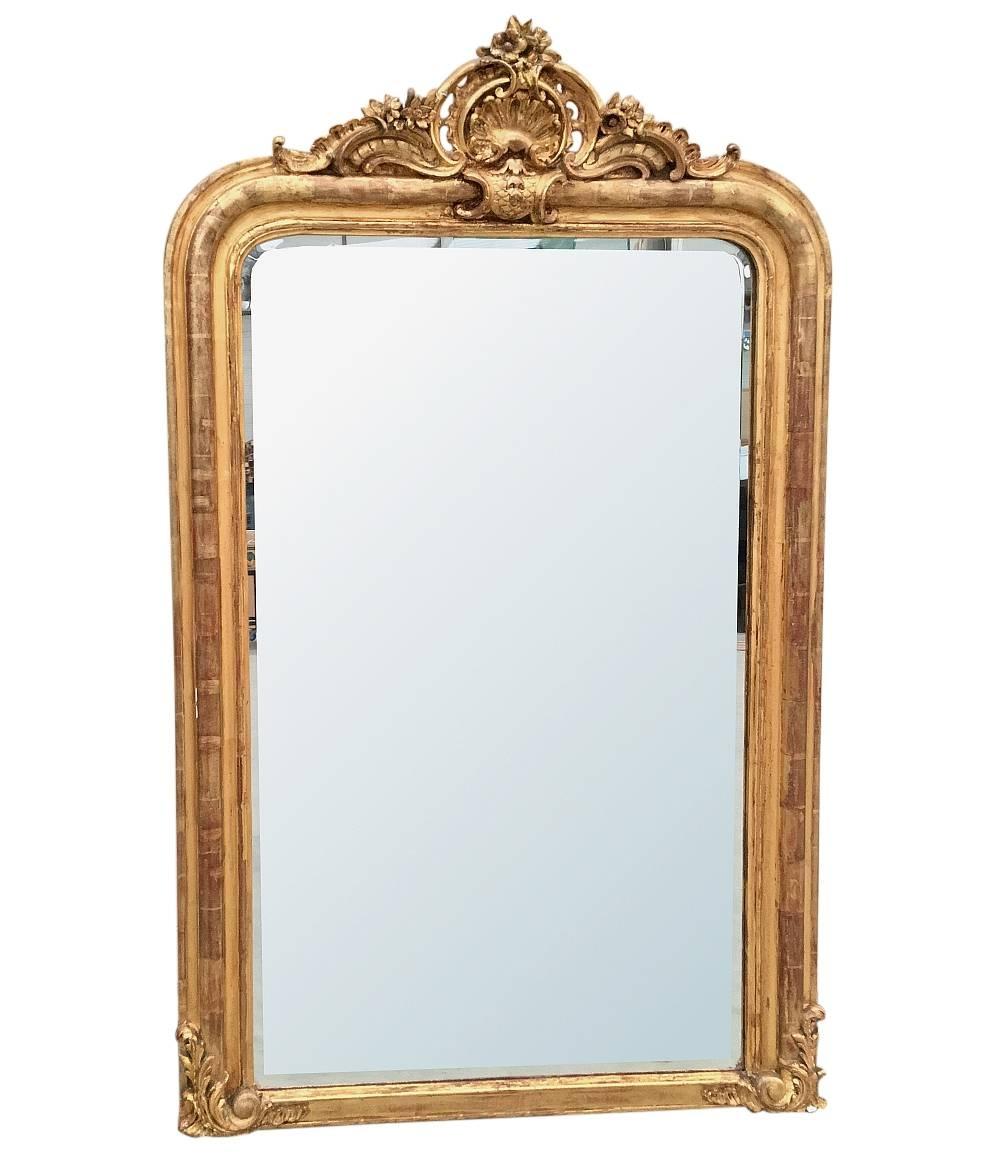 Antique Gilded Mirrors | Antique Mirrors & Décor | Inessa inside Antique Gilded Mirrors (Image 14 of 25)