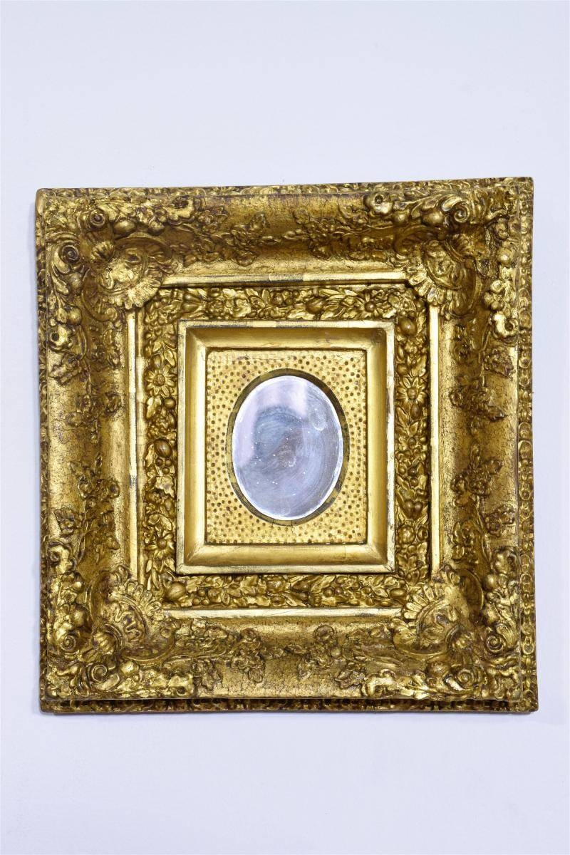 Antique Gilded Mirrors, Set Of 3 For Sale At Pamono Pertaining To Antique Gilded Mirrors (View 6 of 25)