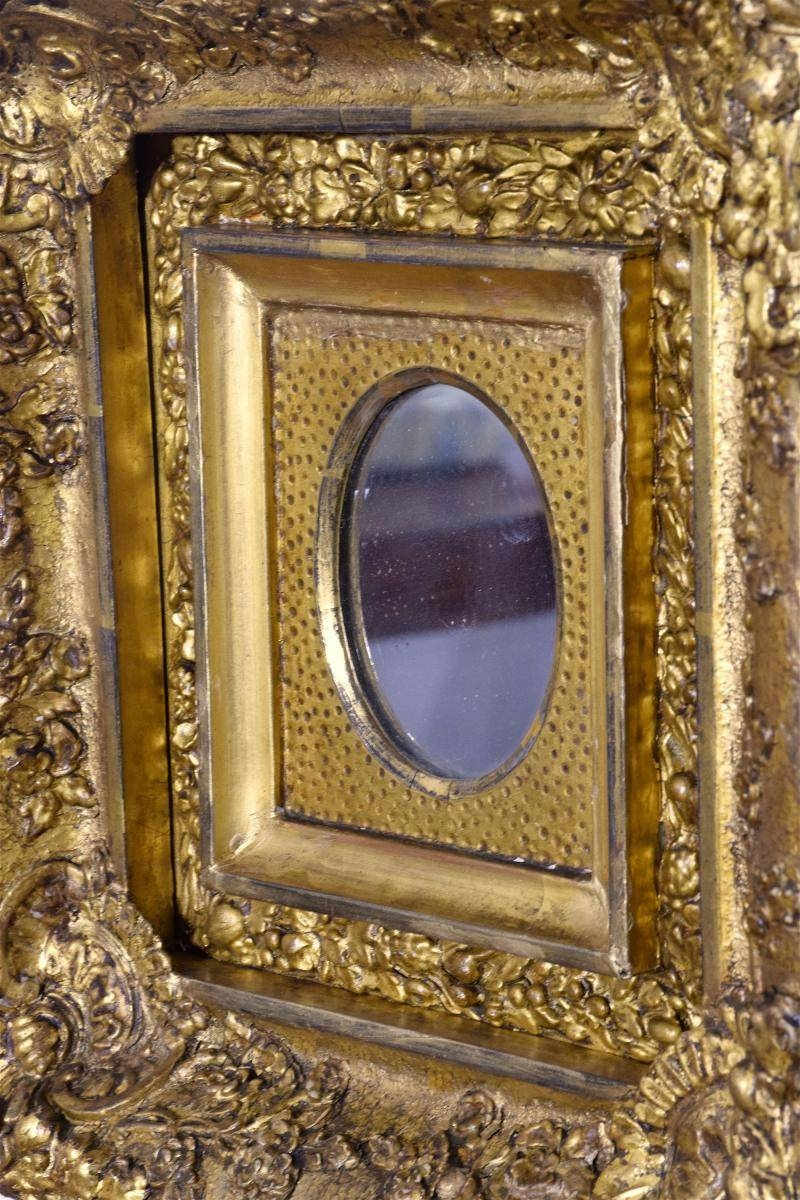 Antique Gilded Mirrors, Set Of 3 For Sale At Pamono Pertaining To Antique Gilded Mirrors (View 4 of 25)