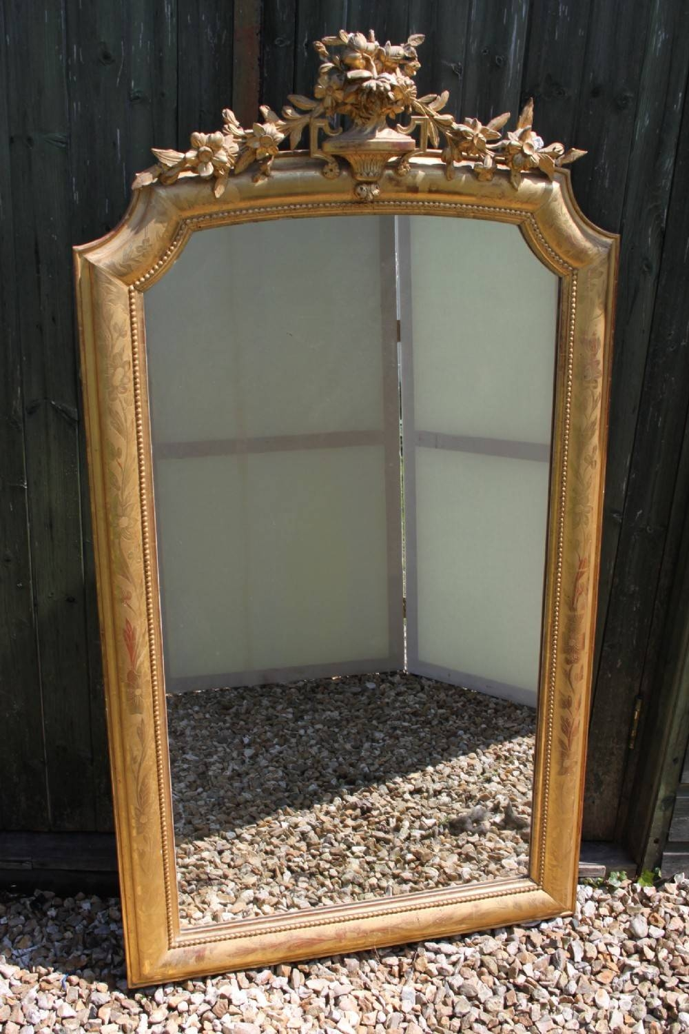 Antique Gilt Mirror | 280421 | Sellingantiques.co.uk inside Antique Gilt Mirrors (Image 12 of 25)