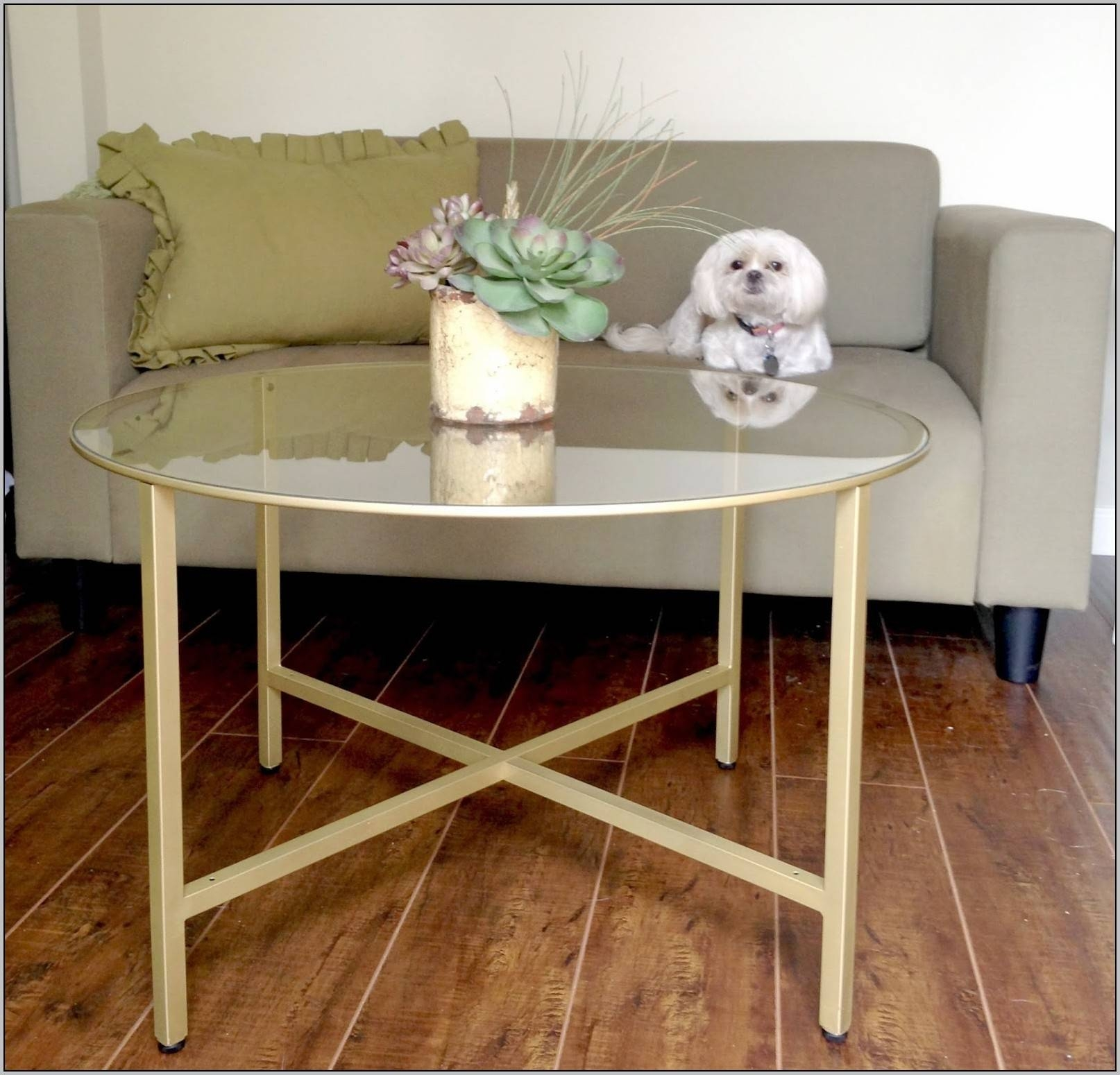 Bamboo Coffee Table Brass Faux Bamboo Square Coffee Table Omero