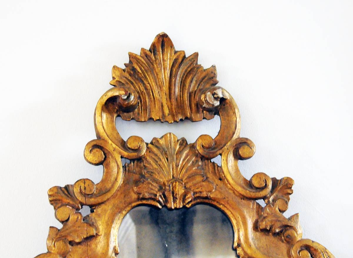 Antique Gold Gilded Mirror | Omero Home for Antique Gilded Mirrors (Image 17 of 25)