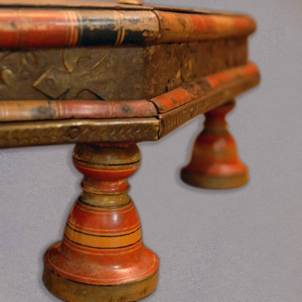 Antique Gujarat Takhat, Indian Low Coffee Table, 1 - Antiques Atlas inside Indian Coffee Tables (Image 3 of 30)