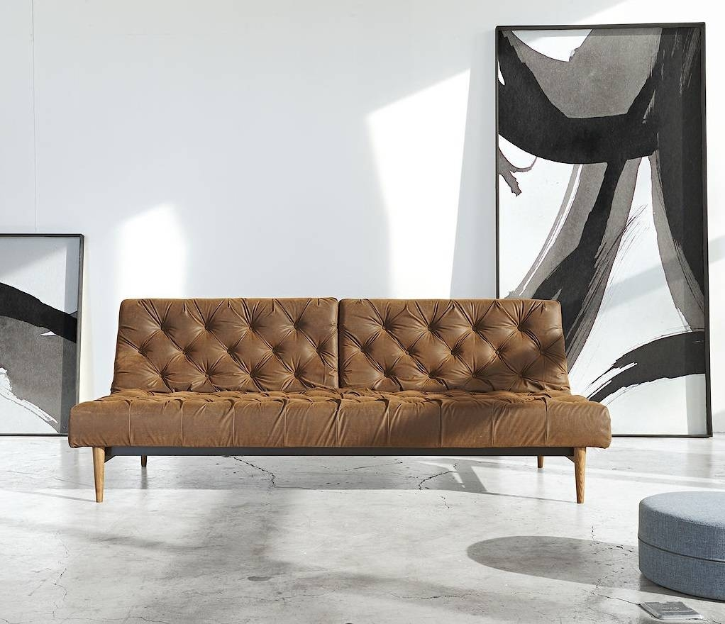 Antique Leather Sofa Bed | Tehranmix Decoration within Vintage Leather Sofa Beds (Image 4 of 30)