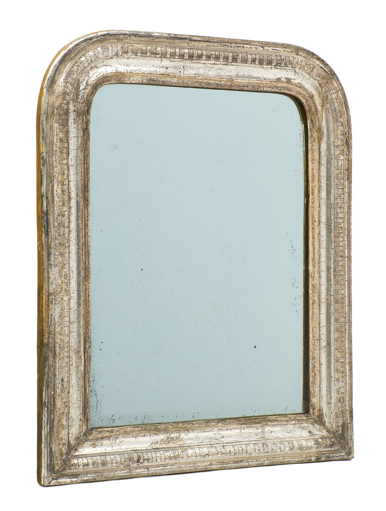 Antique Louis Philippe Silver Leaf Mirrors – Jean Marc Fray Inside Silver Mirrors (View 1 of 25)