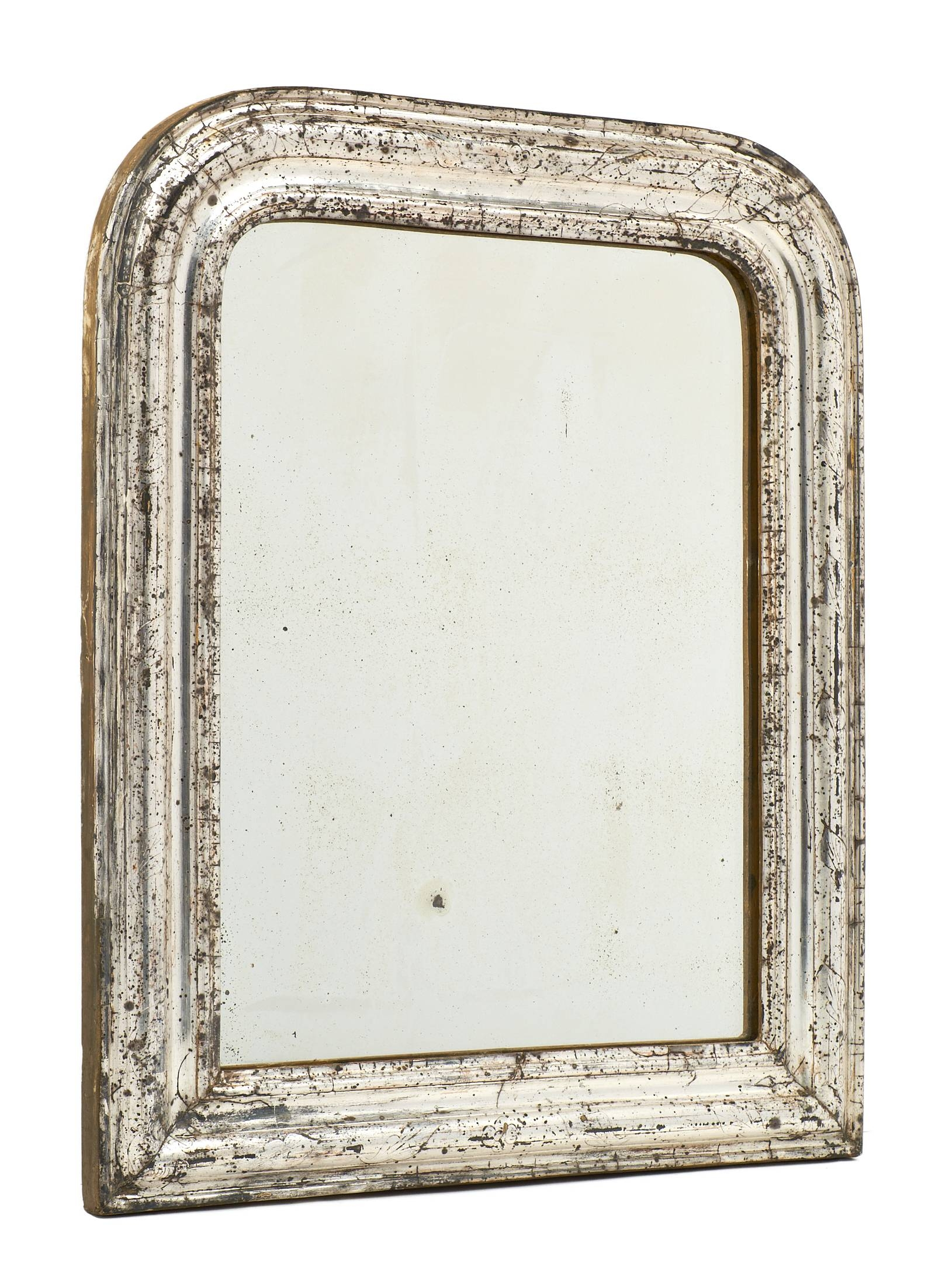 Antique Louis Philippe Silver Leaf Mirrors – Jean Marc Fray Pertaining To Silver Mirrors (View 2 of 25)