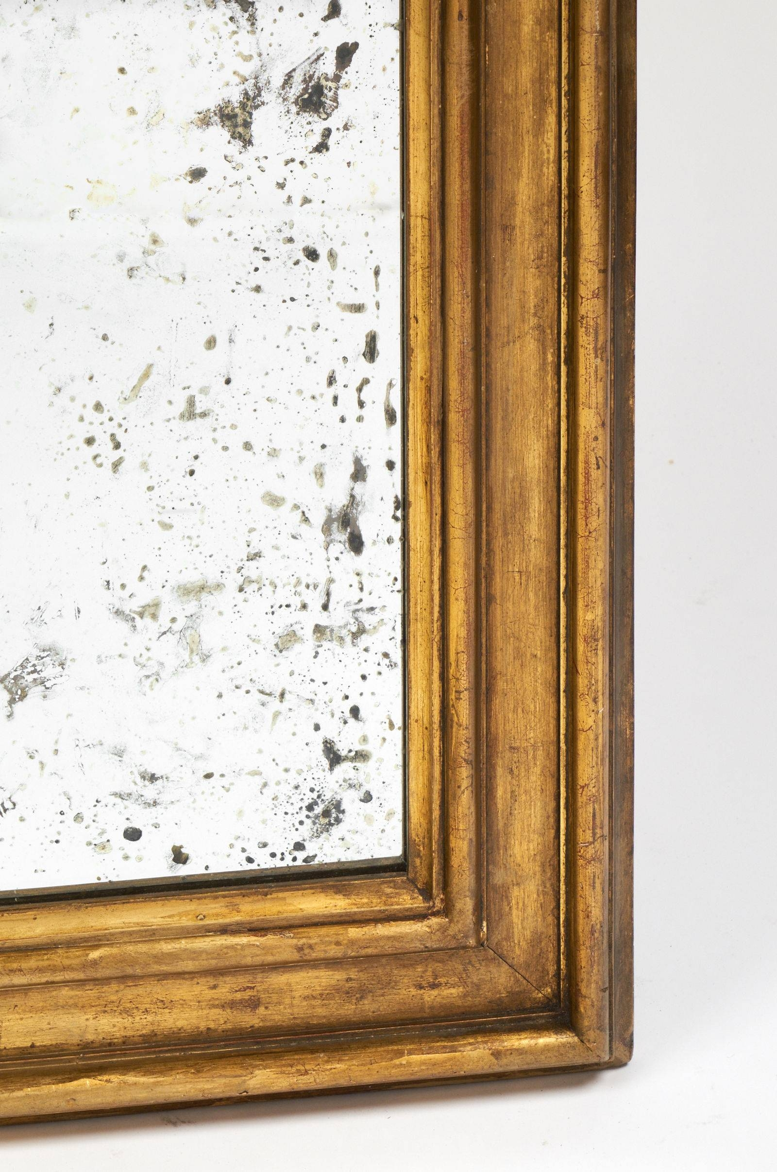 Antique Louis Xvi Style Gold Leaf Mirrors – Jean Marc Fray For Antique Gold Mirrors (View 21 of 25)