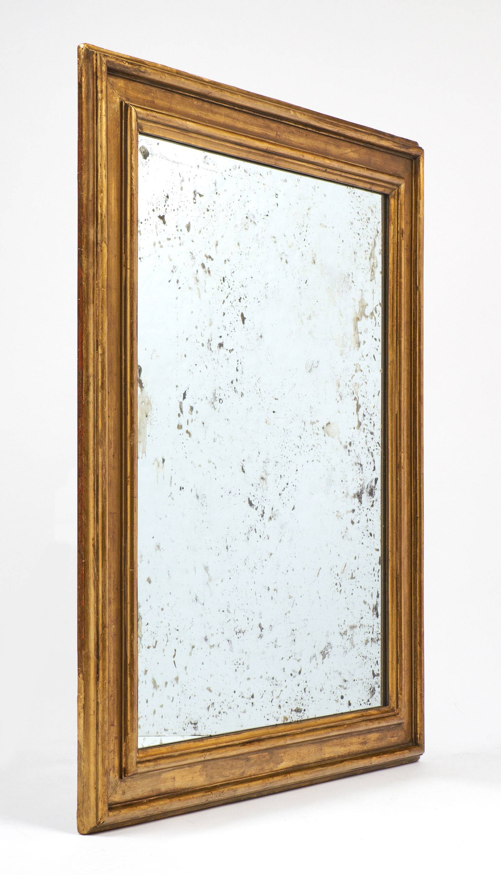 Antique Louis Xvi Style Gold Leaf Mirrors – Jean Marc Fray Pertaining To Antique Gold Mirrors (View 2 of 25)