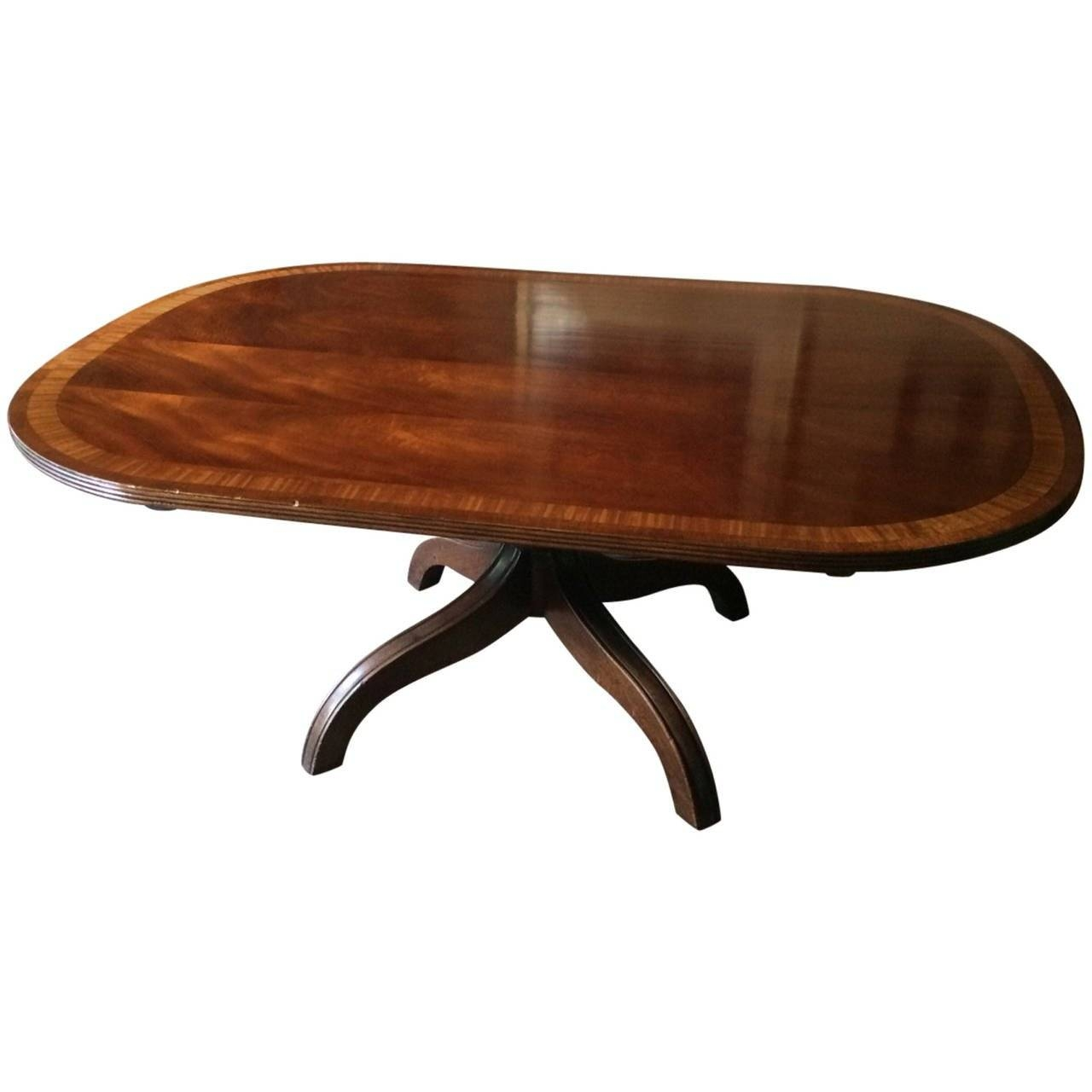 Antique Mahogany And Rosewood Oblong Coffee Table At 1Stdibs regarding Oblong Coffee Tables (Image 2 of 30)