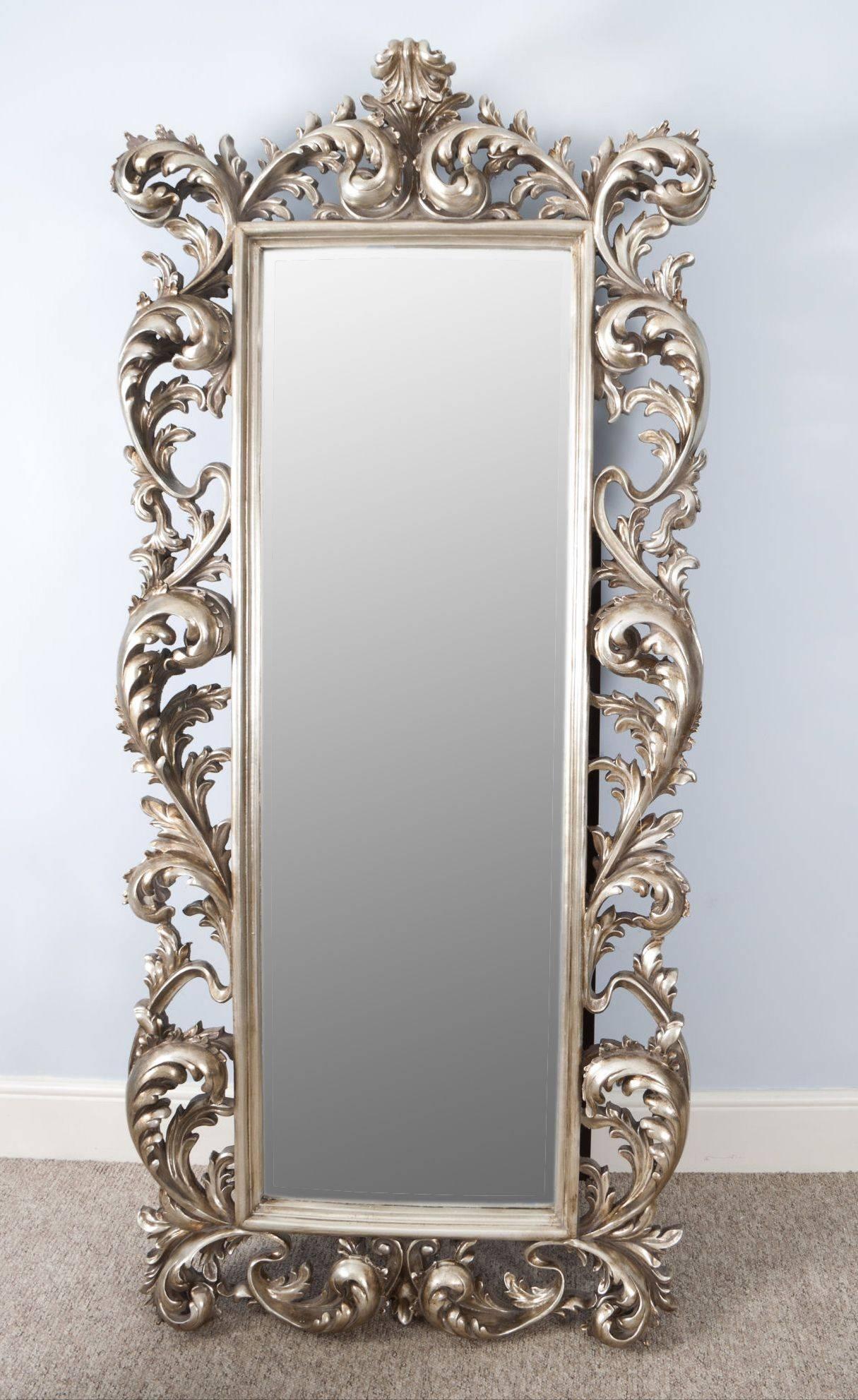 Antique Mirror Wall Clock Vintage Wall Mirror Chain Vintage Mirror with Reproduction Antique Mirrors (Image 9 of 25)